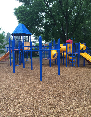 Playmate Play Area Wood Chips Delivery Area Including